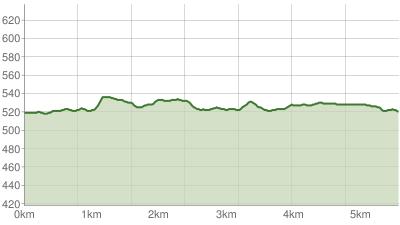 Chiemsee Triathlon Laufstrecke